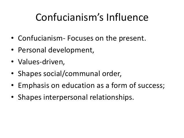 confucianism influence