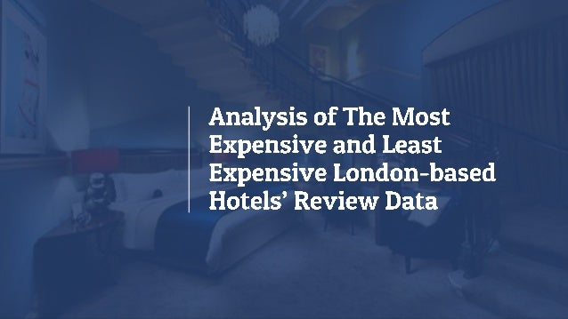 Hotel reviews are gold mine of customer insights for any hotel business. Also, its importance increases by many folds sinc...