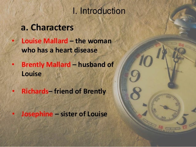 analysis of the story of an hour In this lesson, we will examine the plot and characters of kate chopin's most widely read short story, 'the story of an hour' we will consider the.