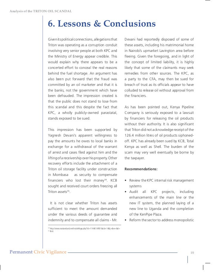 Auditing case study, Auditing