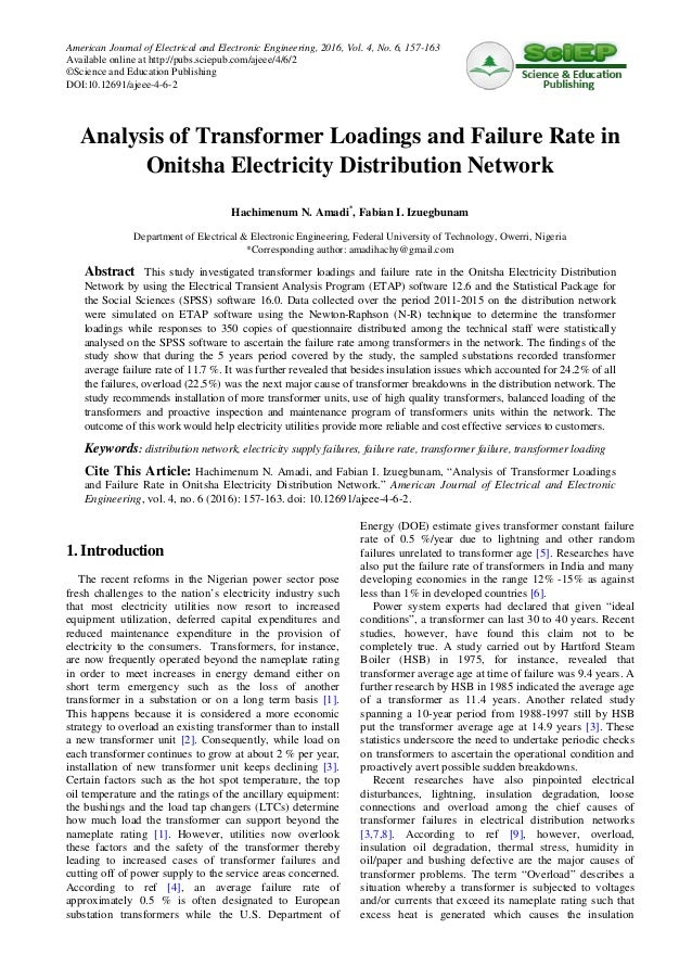 analyzing the distribution network of consumer Distribution network • detailed analysis of the impact of the ev charging station loads on the customer and energy oriented reliability indices.