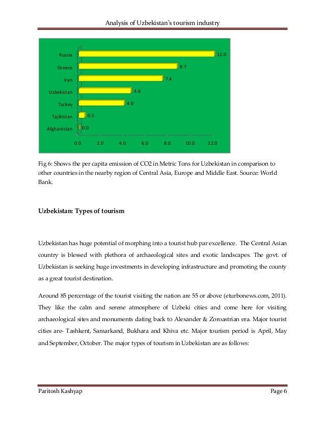 An analysis of tourism
