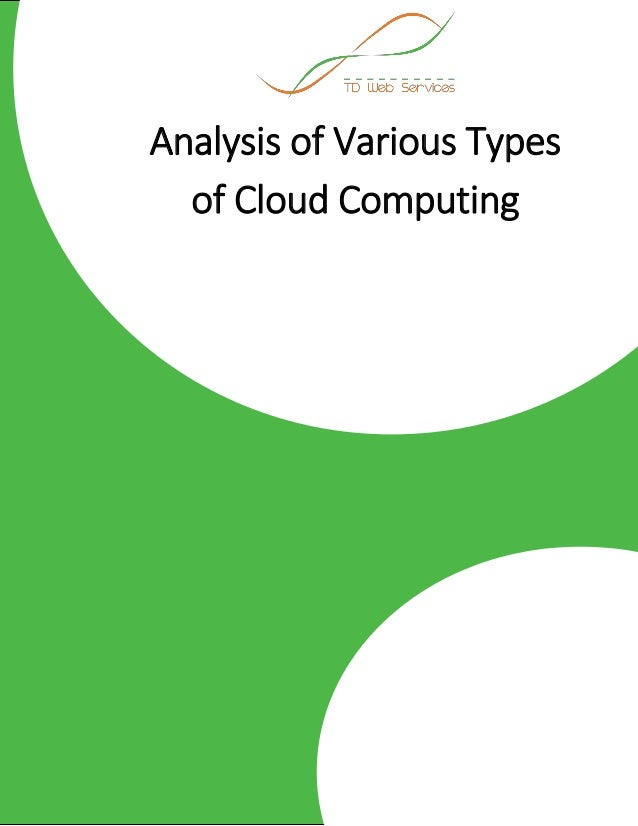 types of cloud computing services pdf