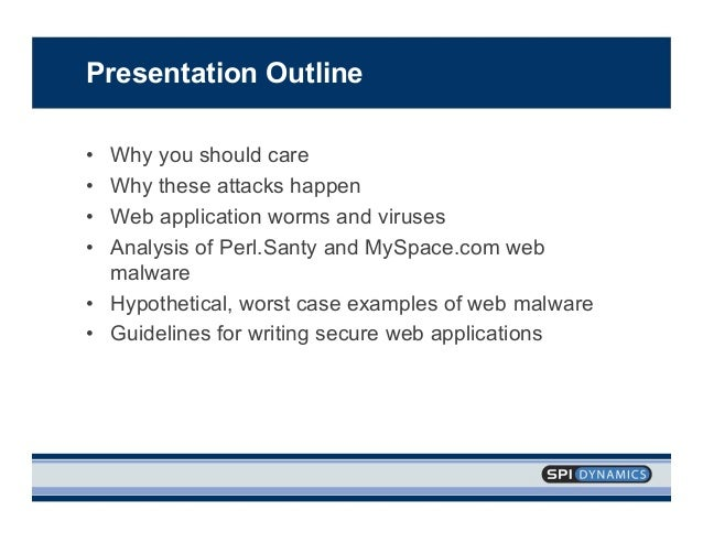 Analysis Of Web Application Worms And Viruses