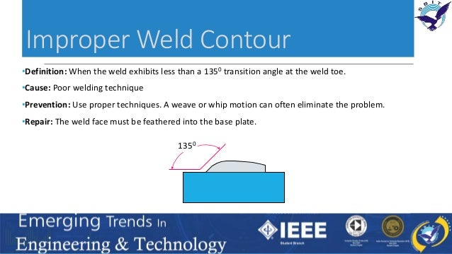 Analysis of Welding Defects