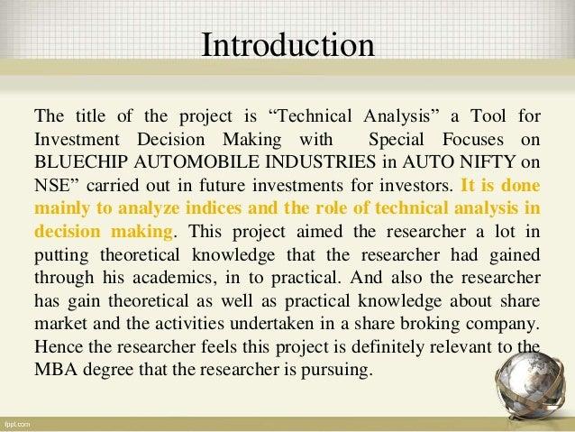 Analysis on bluechip Slide 2