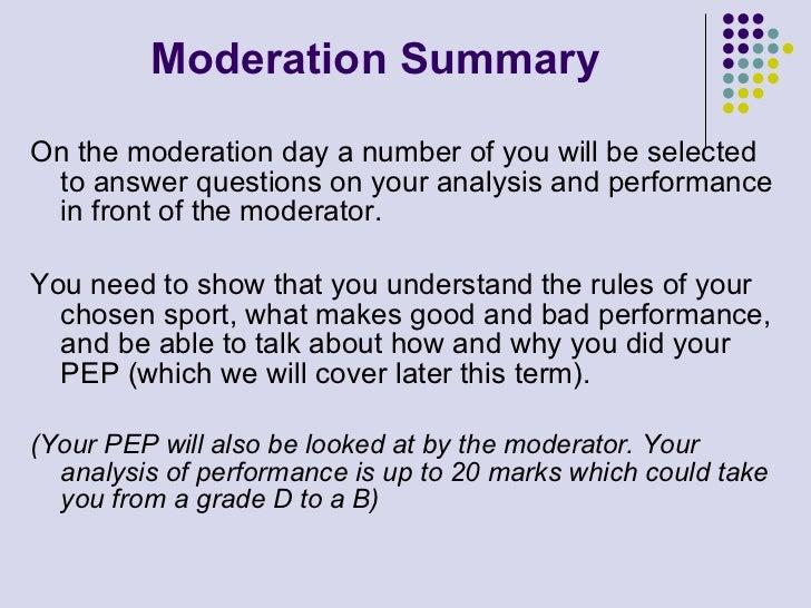 Analysis of Performance Slide 3