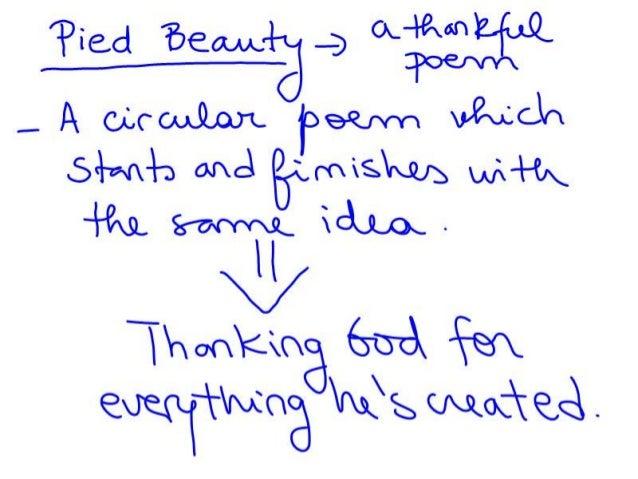 pied beauty poem