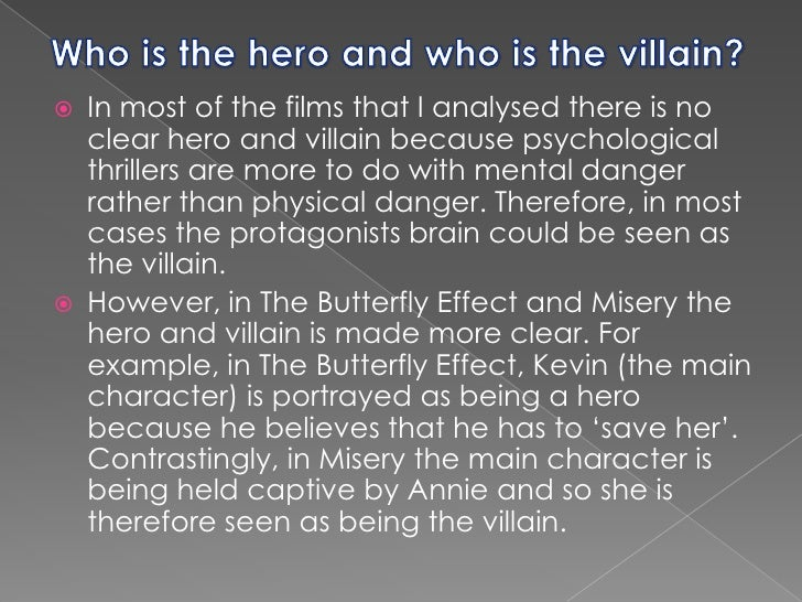 psychological analysis of the butterfly effect The butterfly effect movie reviews & metacritic score: evan treborn (kutcher) has lost track of time from an early age, crucial moments of his life have dis.