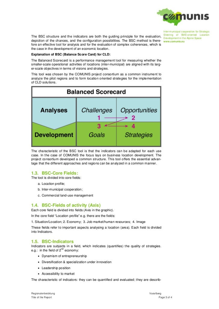 an analysis of balanced scorecard Many organizations have invested substantial resources in recent years to  implement a balanced scorecard of performance metrics from a.