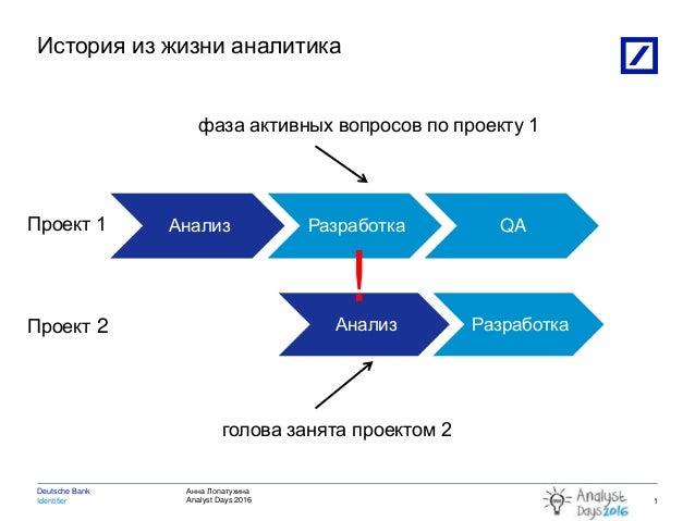 Постоянные переключения контекста в жизни аналитика Slide 2