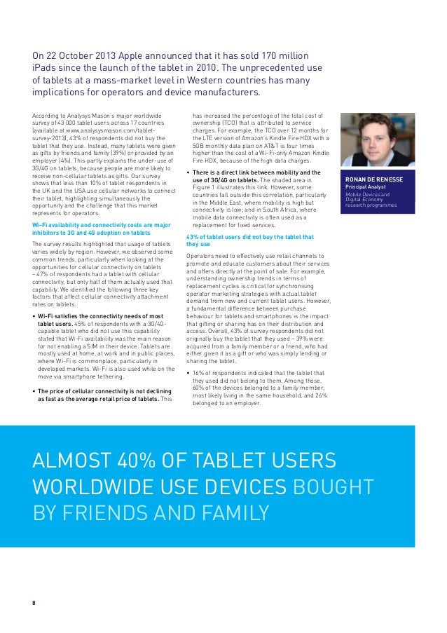 On 22 October 2013 Apple announced that it has sold 170 million iPads since the launch of the tablet in 2010. The unpreced...
