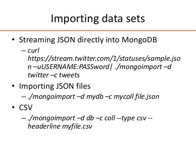 Exploring Public Datasets and APIs with MongoDB and Analytica