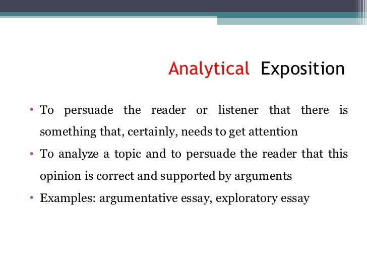 generic structure of an analytical essay The structure of a compare or contrast essay in a compare / contrast essay students have to compare two objects, problems or events and evaluate their similarities and differences.