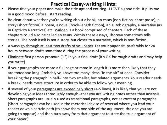 analytical writing 5 practical essay writing