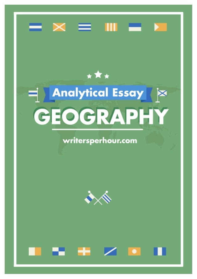 geography university essay Database of example geography essays - these essays are the work of our professional essay writers and are free to use to help with your studies.