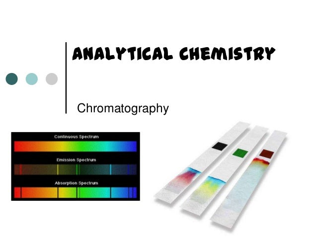 Analytical Chemistry Chromatography