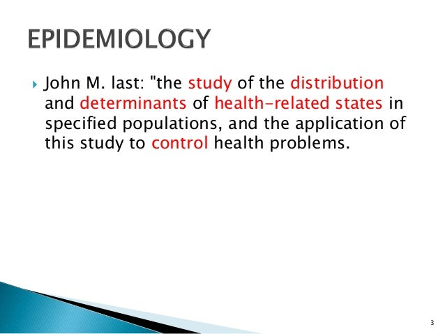 Analytical epidemiology case control study