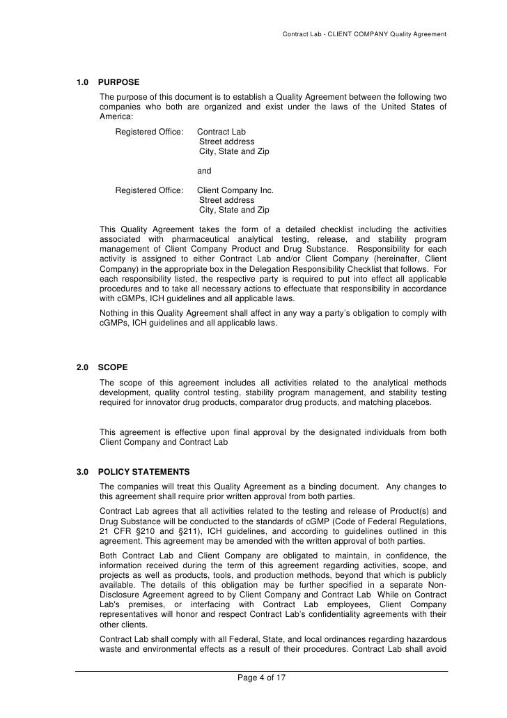 corporate agreement templates