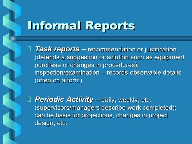 Best Practices And Guidelines For Writing Analytical Reports