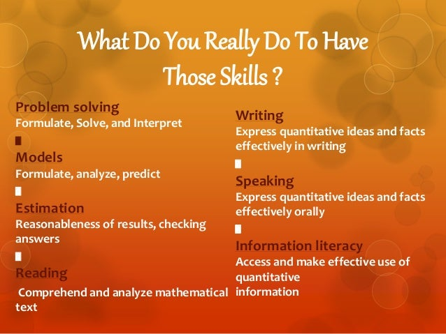 what is analytical skill