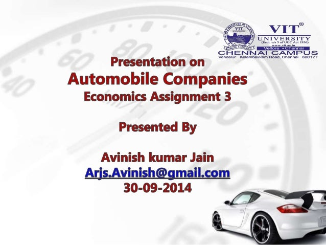 Analytic Study Of Automobile Companies In India 2013 14