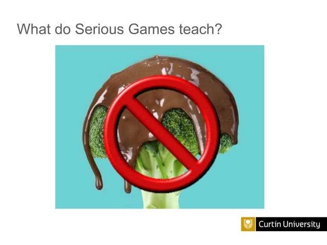 What do Serious Games teach?