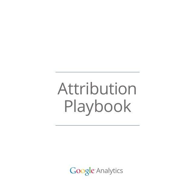 Attribution Playbook