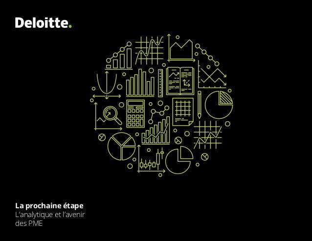 La prochaine étape L'analytique et l'avenir des PME