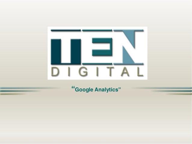 """Google Analytics"""