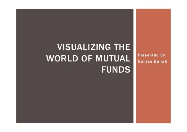 Presented byGunjan BanatiVISUALIZING THEWORLD OF MUTUALFUNDSFUNDS