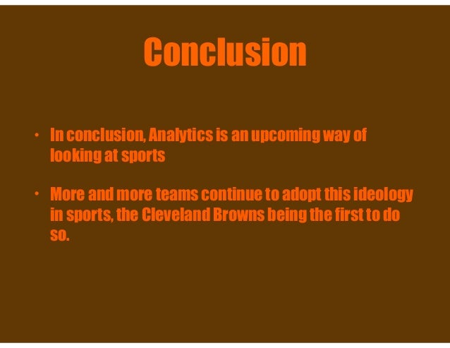 conclusion on football project