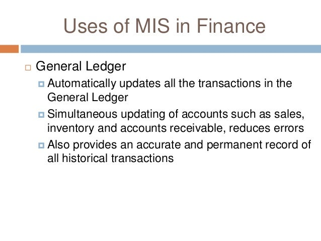 mis in finance Financial services covers the functioning of banks, financial institutions,  mis  formats data entry modules for psb's and other financial institutions, details.