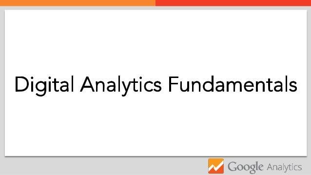 Digital Analytics Fundamentals  z Google Analytics