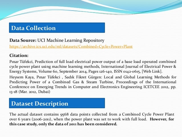 Analytics Project - Combined Cycle Power Plant