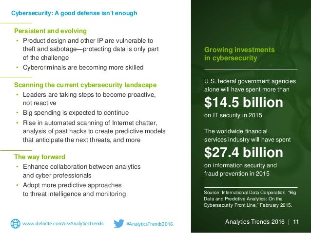 Persistent and evolving • Product design and other IP are vulnerable to theft and sabotage—protecting data is only part of...
