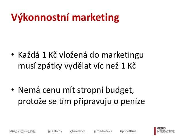Analytika ve světě PPC Slide 2