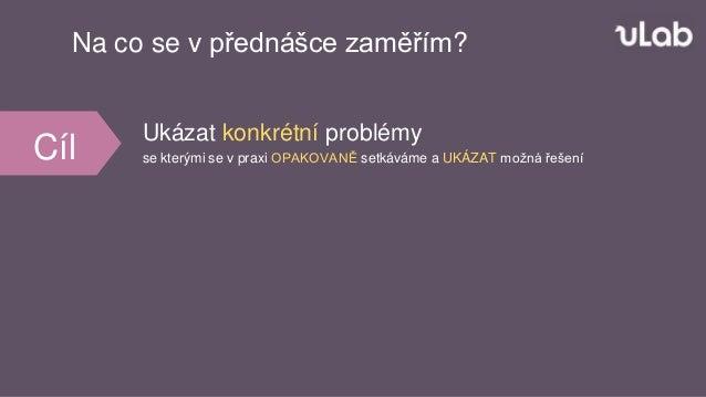 Analytika ve světě startupu (Petr Bureš) Slide 2