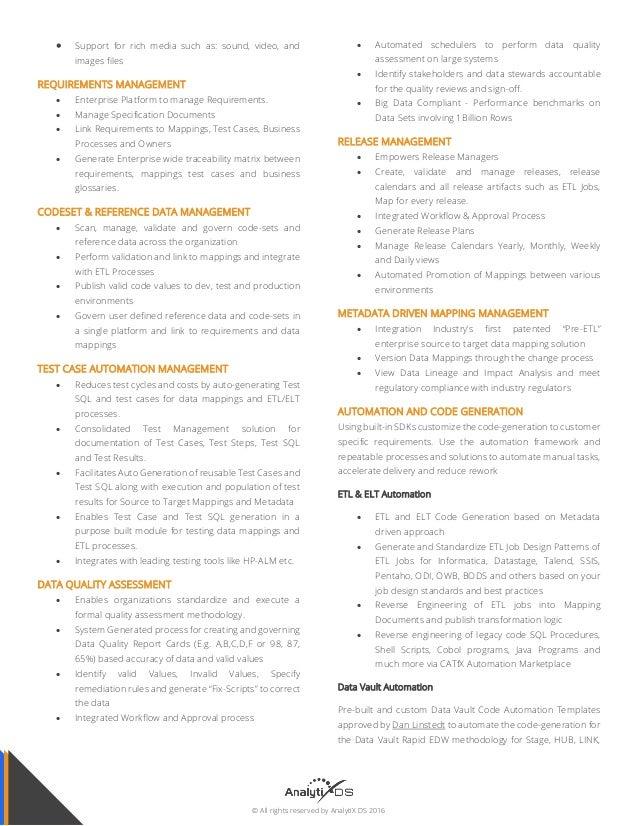 Unified Enterprise Data Mapping, Governance & Automation Platform on