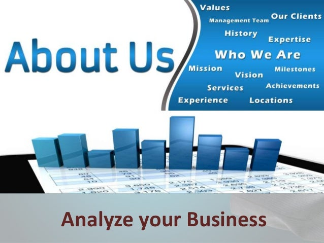 Analyze your Business