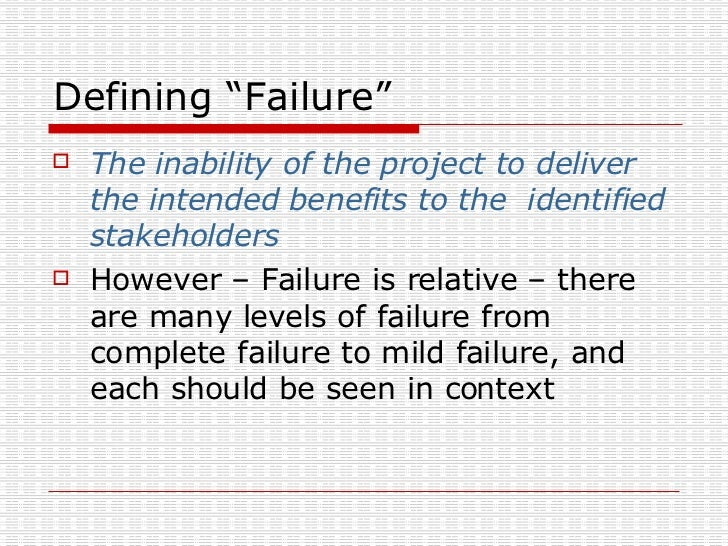 a case study of project and stakeholder management failures lessons learned Aided dispatch project as a case study,  of project failure the stakeholder impact  and lessons learned document management concerns.