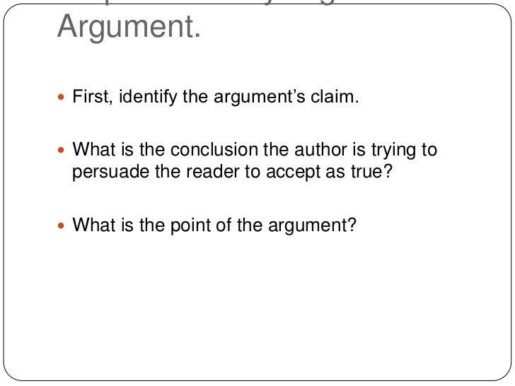 Premise Indicator Words: Analyzing And Evaluating Arguments
