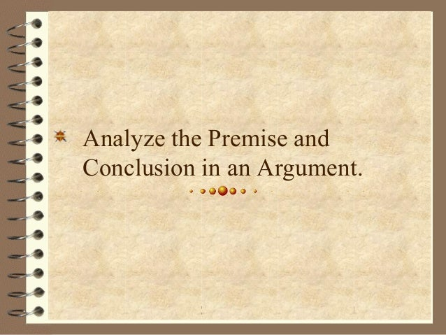 Premise Indicator Words: Analyzing Arguments