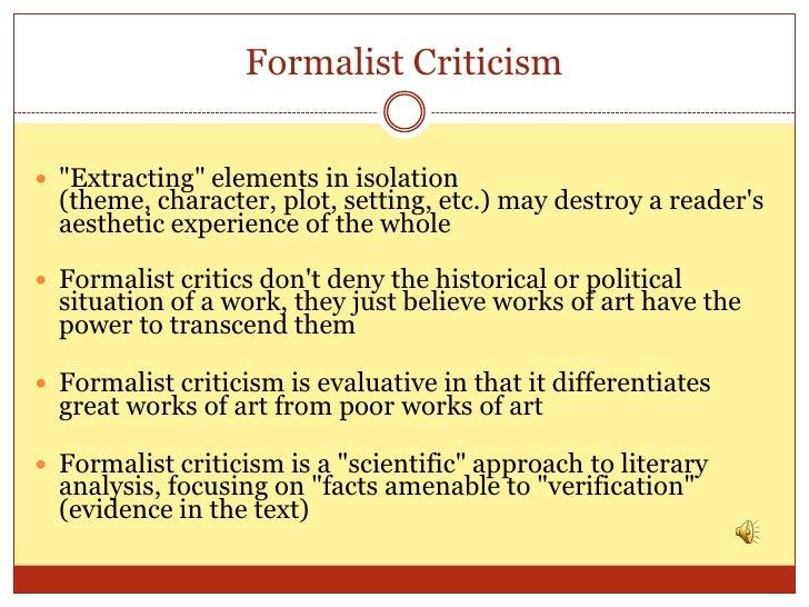 Formalism (literature)