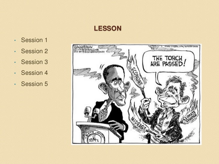 Analyzing political cartoons