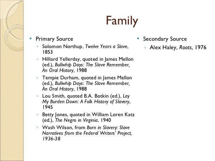 slavery primary source project African american primary sources  includes material from reference sets and  hundreds of primary documents: manuscripts,  antislavery literature project.