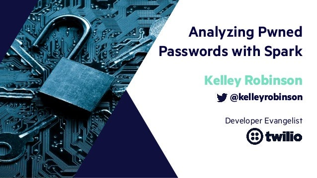 Analyzing Pwned Passwords with Spark and Scala Slide 2