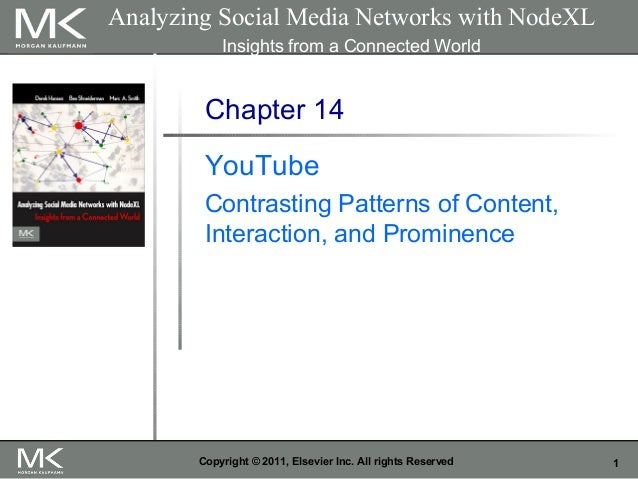 1Copyright © 2011, Elsevier Inc. All rights Reserved Chapter 14 YouTube Contrasting Patterns of Content, Interaction, and ...
