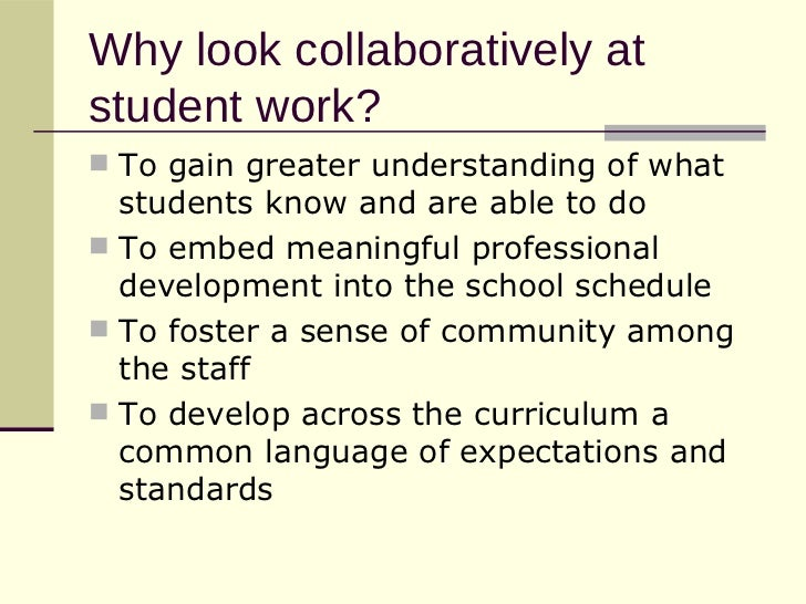 Analyzing student work ppt download.