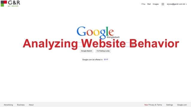 Analyzing Website Behavior